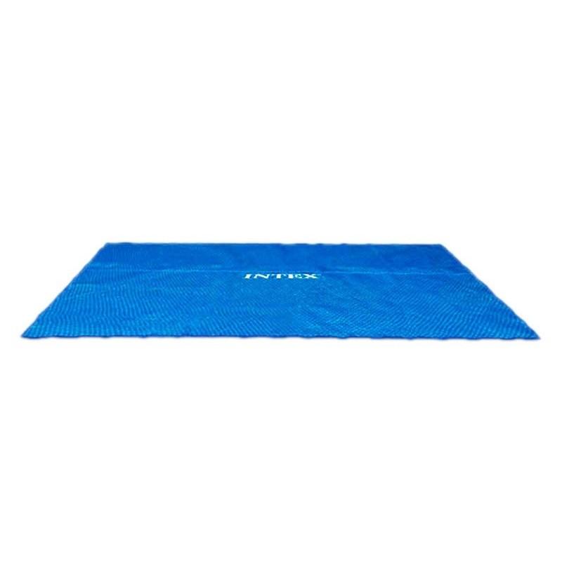 Materac Mozaika - tęczowy 59720 Intex Pool Garden Party
