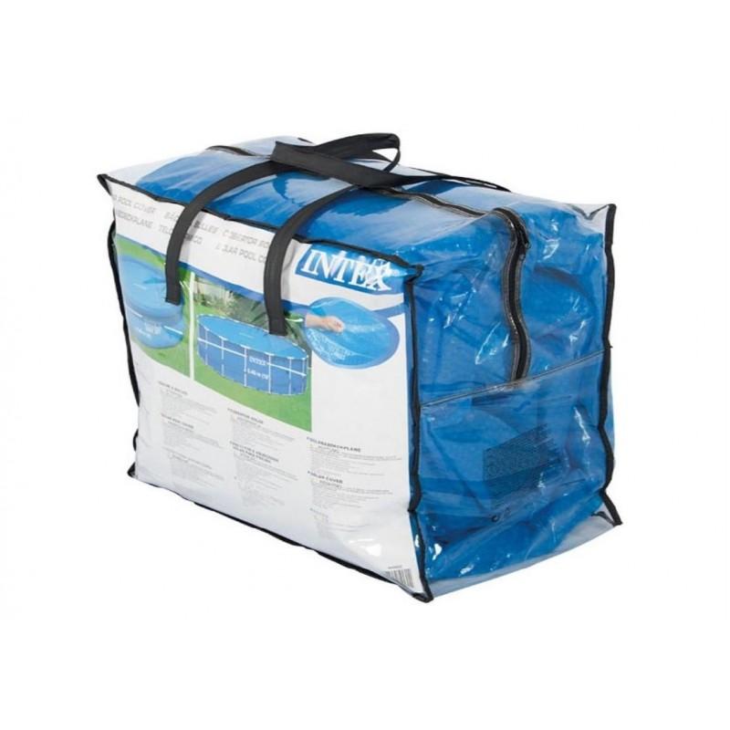 Materac dmuchany z okienkiem 59894 Intex Pool Garden Party