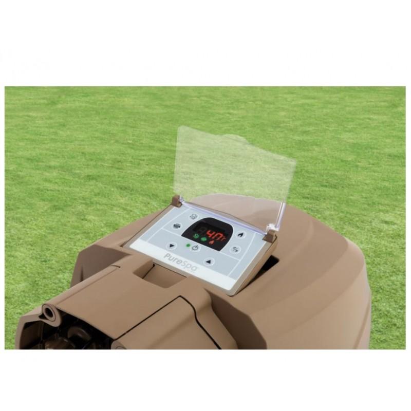 Materac dmuchany z okienkiem 188 x 71 cm 59894 Intex Pool Garden Party