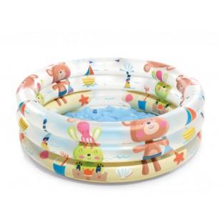 Basen Jet SPA Deluxe z filtrem i podgrzewaczem, zmiekczaczem i systemem solankowym Intex