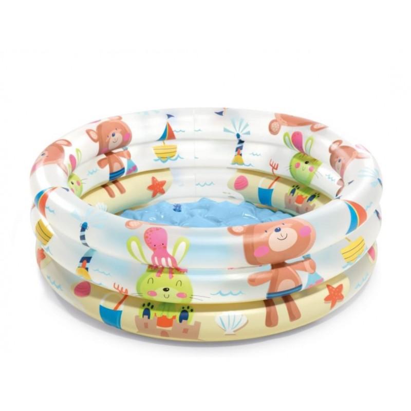 Basen Jet SPA Deluxe z filtrem i podgrzewaczem i systemem solankowym 28456 Intex Pool Garden Party