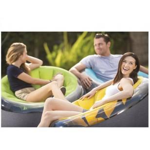 Trampolina nadmuchiwana, zabawka do skakania zamek 132 x 132 x 107 cm 48257 Intex Pool Garden Party