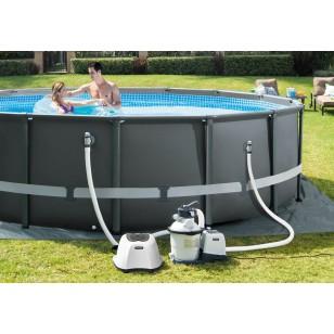 Zestaw do pływania - błękit Intex