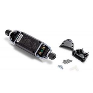 Okularki pływackie dla dzieci żółte Intex