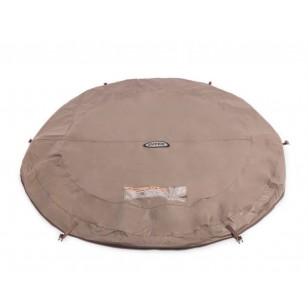 Okularki pływackie Pro Racing Sport białe Intex