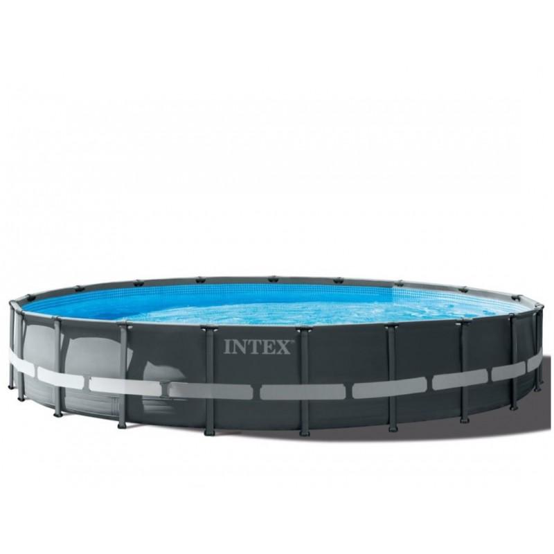 Basen Jet SPA Deluxe z filtrem i podgrzewaczem i systemem solankowym 28454 Intex Pool Garden Party