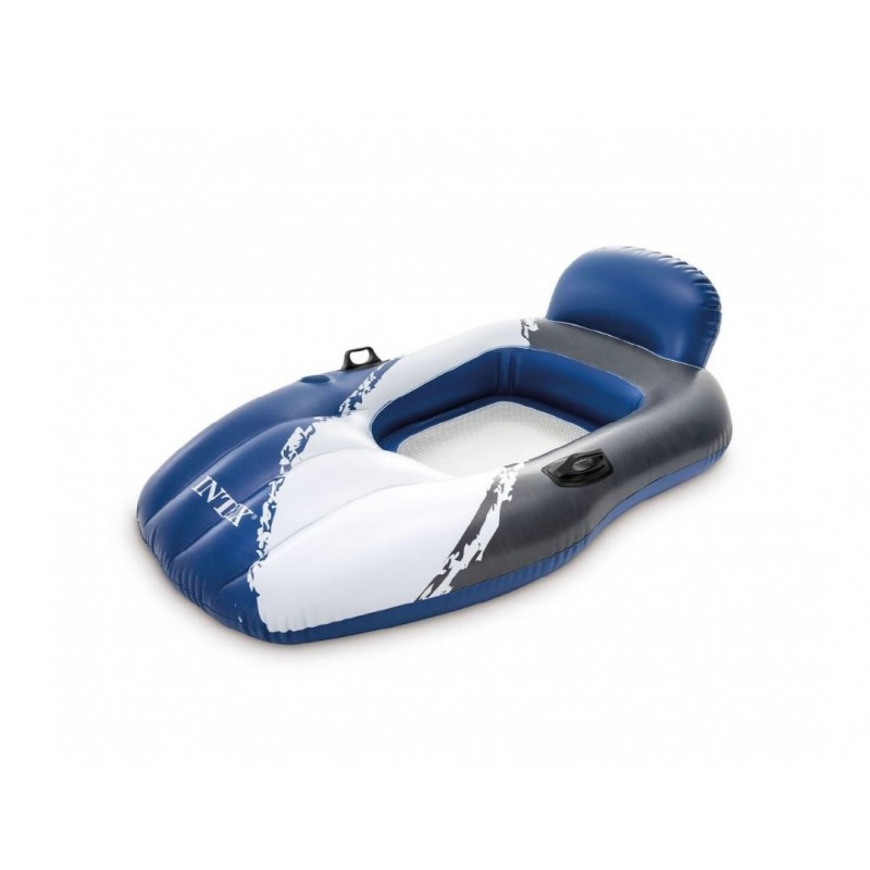 Czepek pływacki niebieski 55991 Intex Pool Garden Party