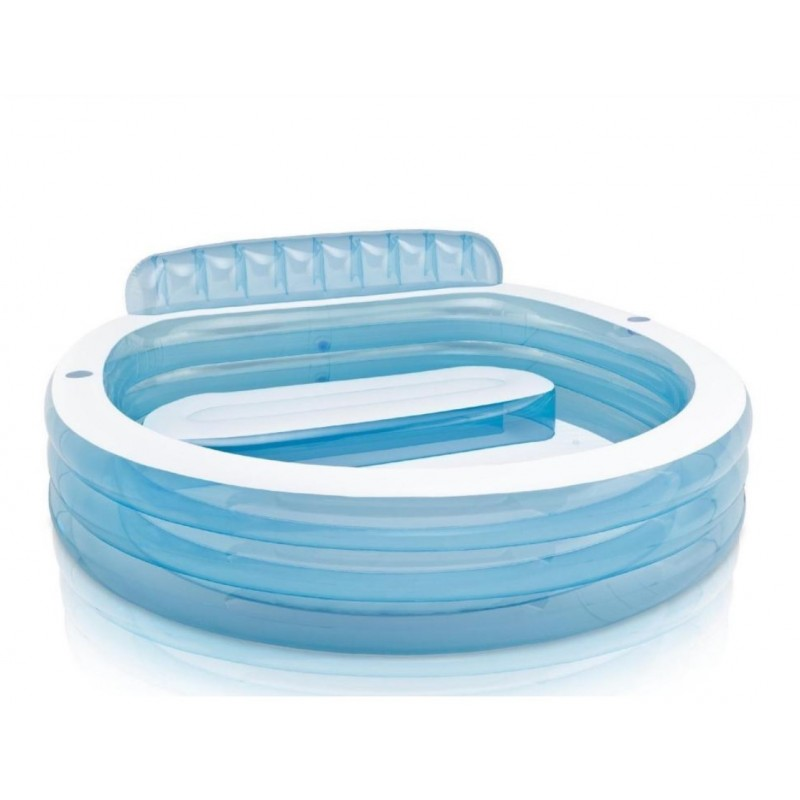 Koło do pływania Glossy Crystal 114 cm 56264 Intex Pool Garden Party