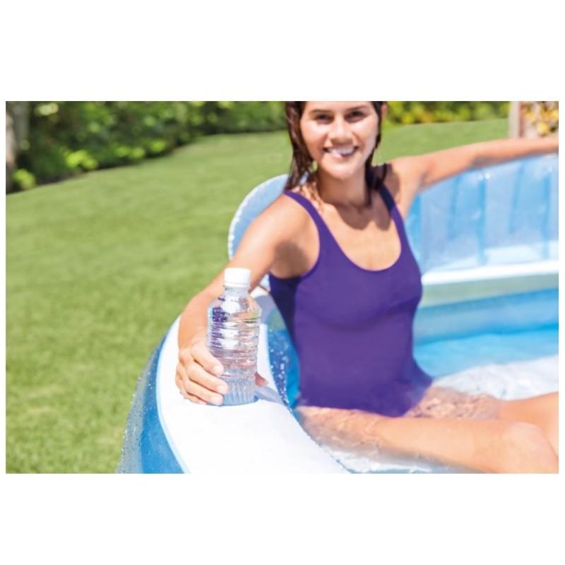 Płetwy dla dzieci (35-37) żólte 55936 Intex Pool Garden Party