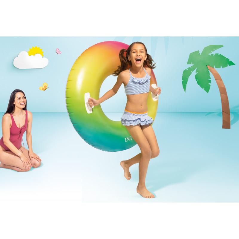 Fartuch ograniczający podporę do basenu Ultra Frame Rectangular 10938 Intex Pool Garden Party