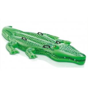 Basen stelażowy z hydroaeracją ultra prostokatny 300 x 175 cm - zestaw Prism 28314 Intex Pool Garden Party