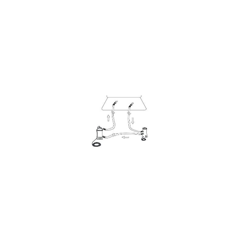 Materac do spania Prime Comfort Queen z wbudowaną pompką elektryczną 64446 Intex Pool Garden Party