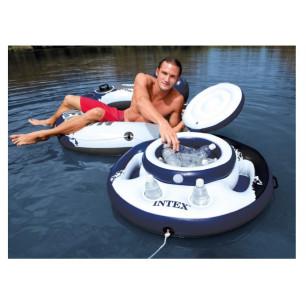Materac do spania PILLOW REST QUEEN 66769 Intex Pool Garden Party