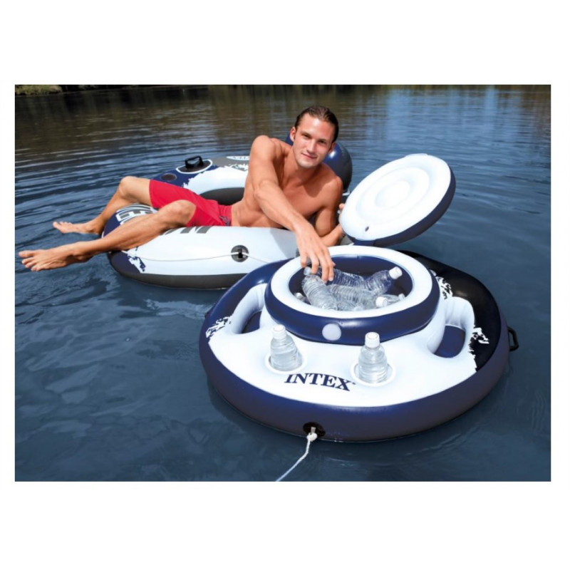 Materac do spania PILLOW REST QUEEN 66769 Intex Pool Garden Party