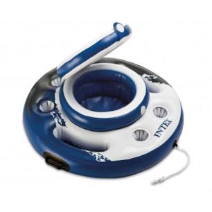 Materac do spania z wbudowaną pompką elektryczną PILLOW REST CLASSIC TWIN 66799 Intex Pool Garden Party