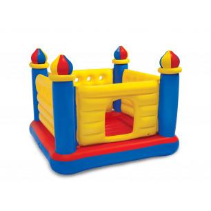 Materac do spania z wbudowaną pompką elektryczną PILLOW REST CLASSIC FULL 66780 Intex Pool Garden Party