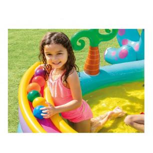 Plac zabaw - ślizgawka do surfowania 57159 Intex Pool Garden Party