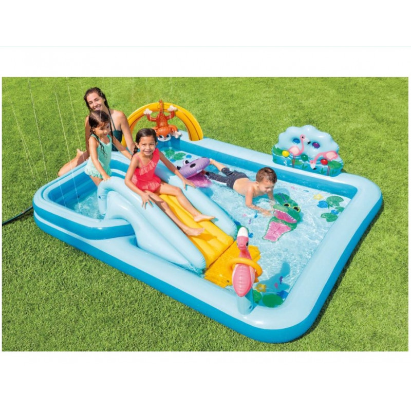 Materac -Seashell Island 191 cm 57255 Intex Pool Garden Party