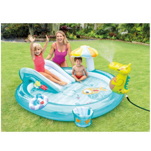 Basen Brodzik- Gator Spray 57431 Intex Pool Garden Party