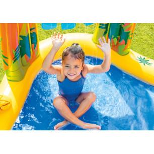 Pływajaca gra w rzutki 57503 Intex Pool Garden Party