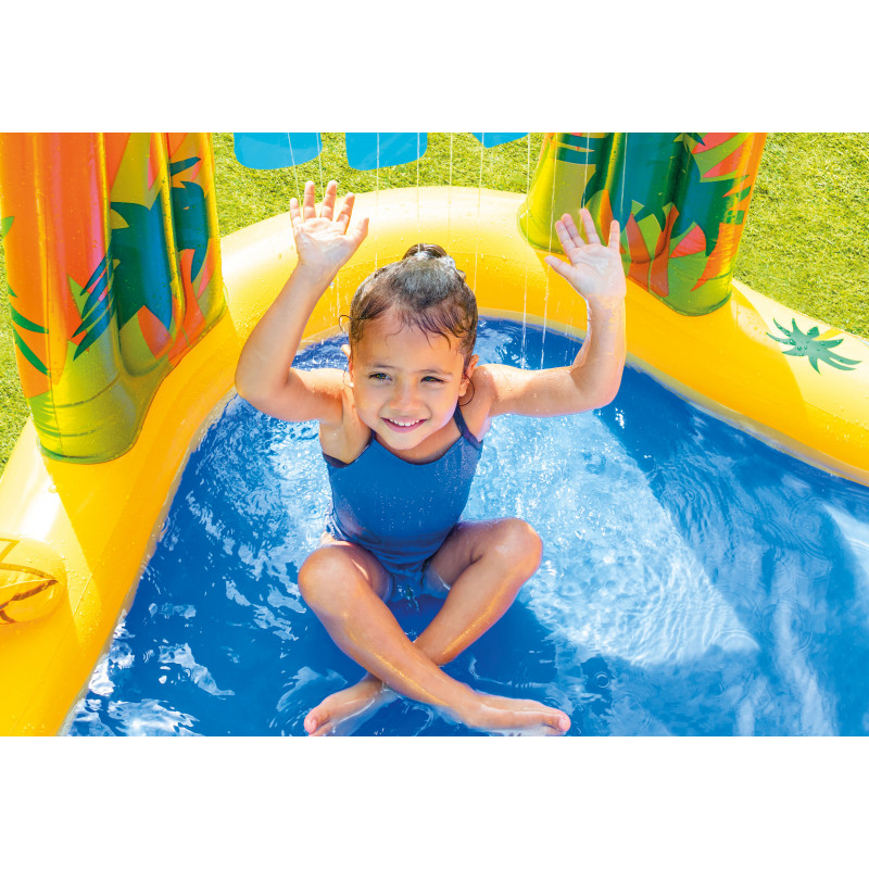 Pływajaca gra w rzutki 57503 Intex Pool Garden Party