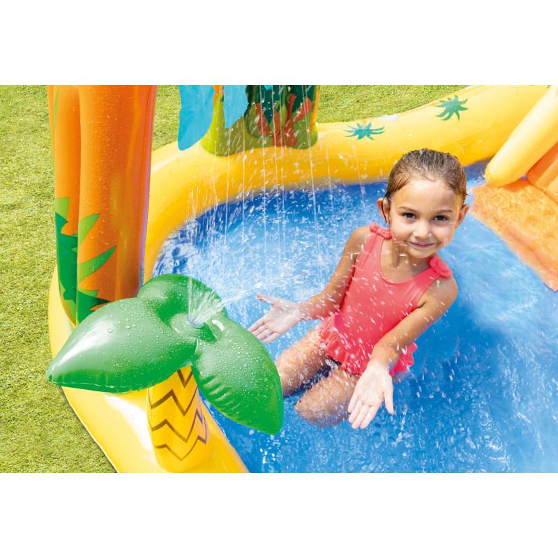 Zabawka do pływania - Biały Rekin 57525 Intex Pool Garden Party