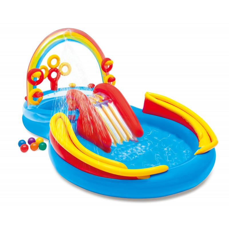Zabawka do pływania - Aligator 57551 Intex Pool Garden Party