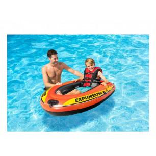 Materac - Kolorowy Plusk - zielony Intex