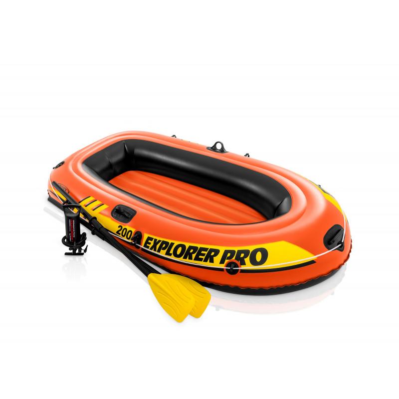Materac - Przeźroczyste Srebro 58894 Intex Pool Garden Party