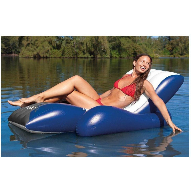 Materac do spania 99 x 191 x 25 cm Deluxe Single-High Twin 64101 Intex Pool Garden Party