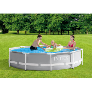 Materac do spania 137 x 191 x 25 cm Deluxe Single-High Full 64102 Intex Pool Garden Party