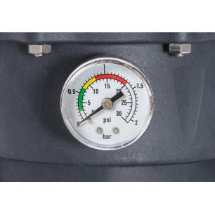 Materac do spania 152 x 203 x 51 Essential Rest Queen z wbudowana pompką elektryczną 64140 Intex Pool Garden Party