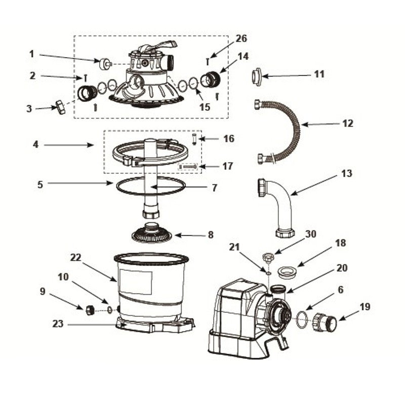 Zabawka do pływania - Samolot z pistoletem na wodę niebieski 57537 Intex Pool Garden Party