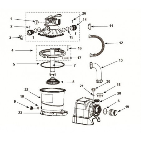 Zabawka do pływania - Samolot z pistoletem na wodę niebieski Intex