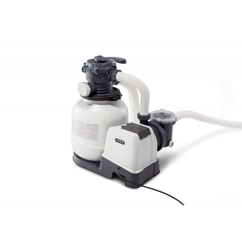 Basenik kwadratowe akwarium 159 x 159 x 50 cm 57471 Intex Pool Garden Party