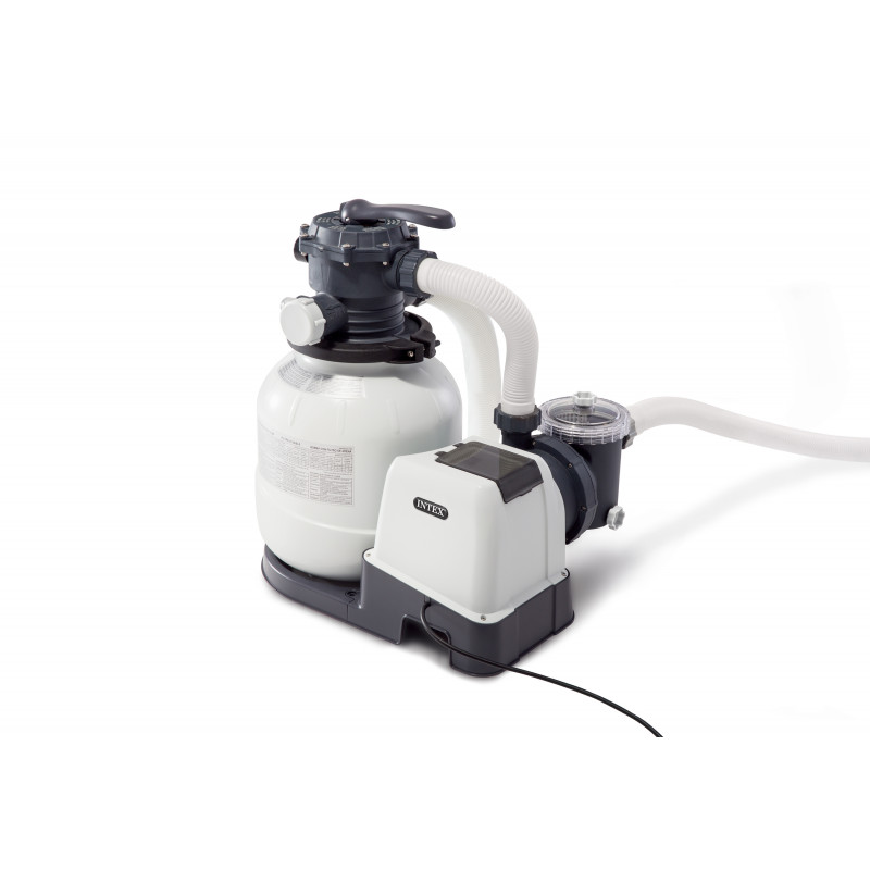 Basen dla maluchów przezroczysty oval 163 x 107 x 46 cm 57482 Intex Pool Garden Party