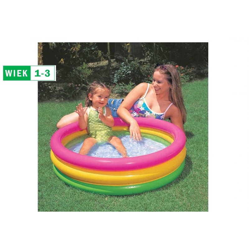 Basen Brodzik Żółwik 59409 Intex Pool Garden Party