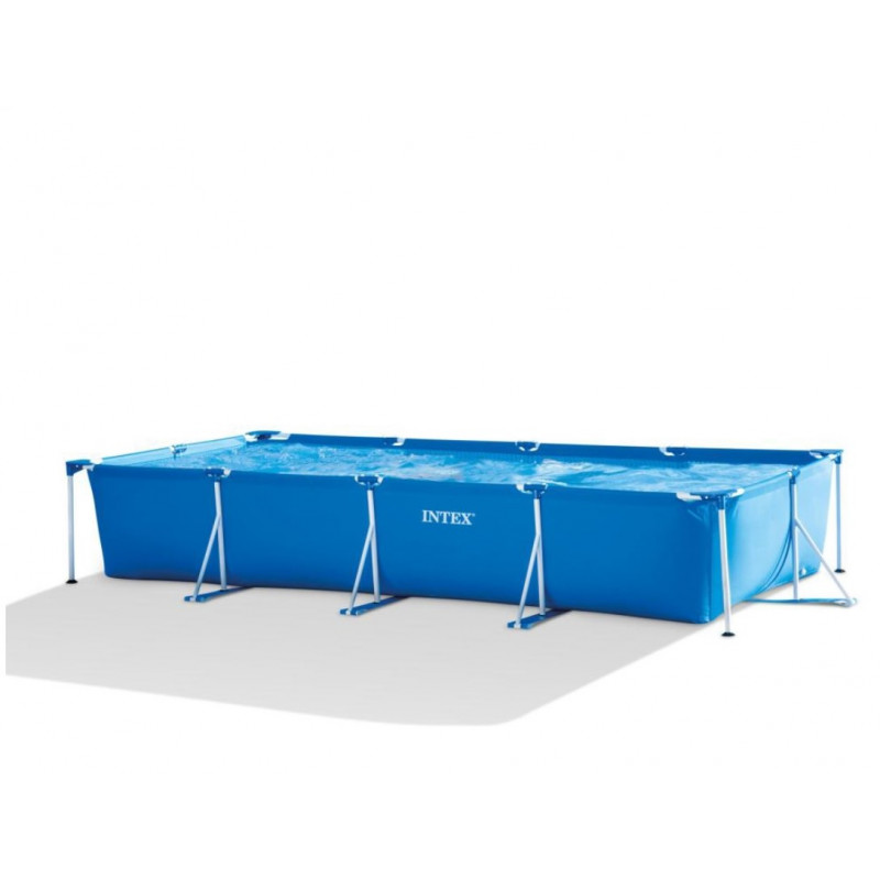 "Materac dmuchany ""Pocket"" z okienkiem Turkusowy 59895 Intex Pool Garden Party"
