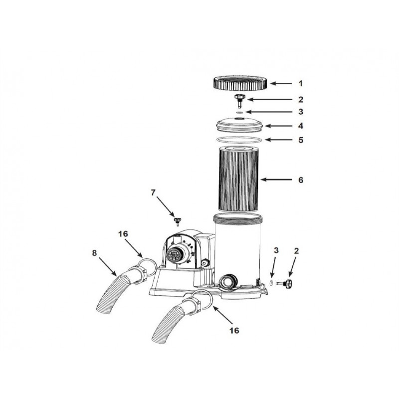 Kajak nadmuchiwany Challenger K1 jednoosobowy 68305 Intex Pool Garden Party