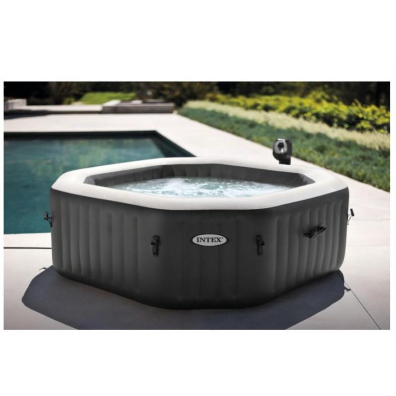 Fotel z turkusowym kwiatem 68574 Intex Pool Garden Party