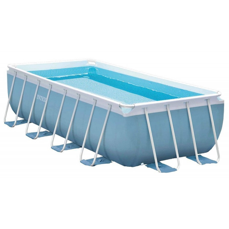 Materac do spania Deluxe Twin 64707 Intex Pool Garden Party