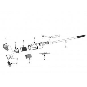 Materac do spania 137 x 191 x 33 cm Comfort Plush Full z wbudowaną pompką elektryczną Intex