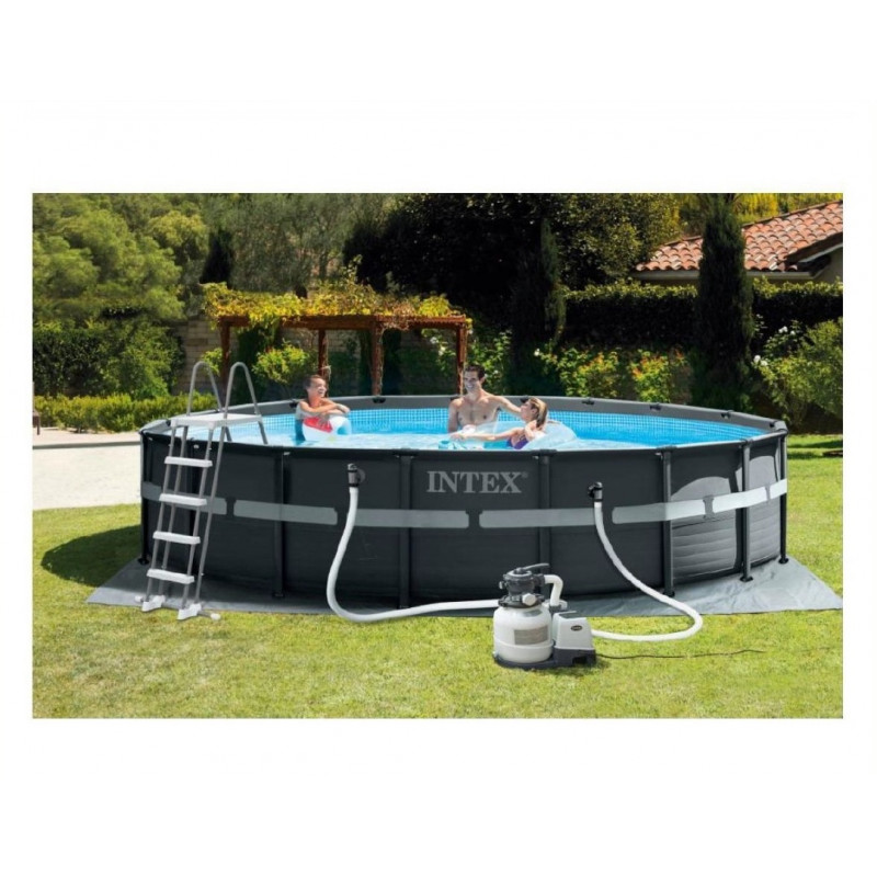 Materac do spania 137 x 191 x 22 cm Classic Downy Full 68758 Intex Pool Garden Party