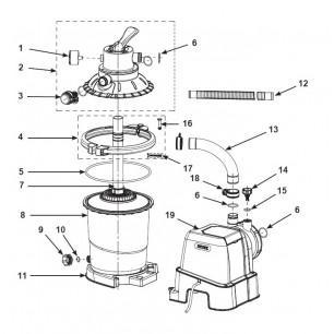 Deseczka do pływania Rider 112 x 62 cm czerwona 58165 Intex Pool Garden Party