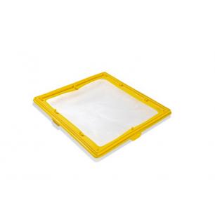 Koło do pływania z uchwytami 76 cm - różowe Intex