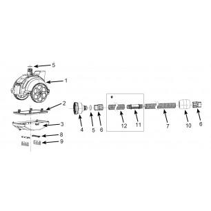 Materac - Pływający Fotel - zielony Intex