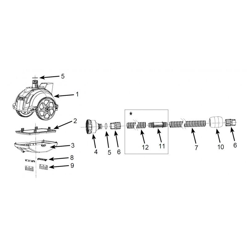 Materac - Pływający Fotel - zielony 58859 Intex Pool Garden Party