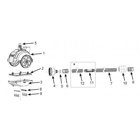 miniatura - Materac - Pływający Fotel - zielony Intex