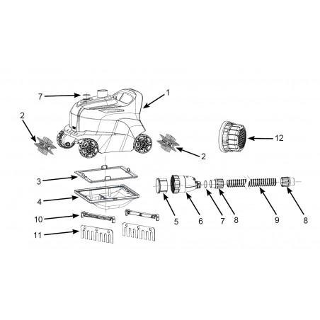 miniatura - Materac - Pływający Fotel - żółty Intex