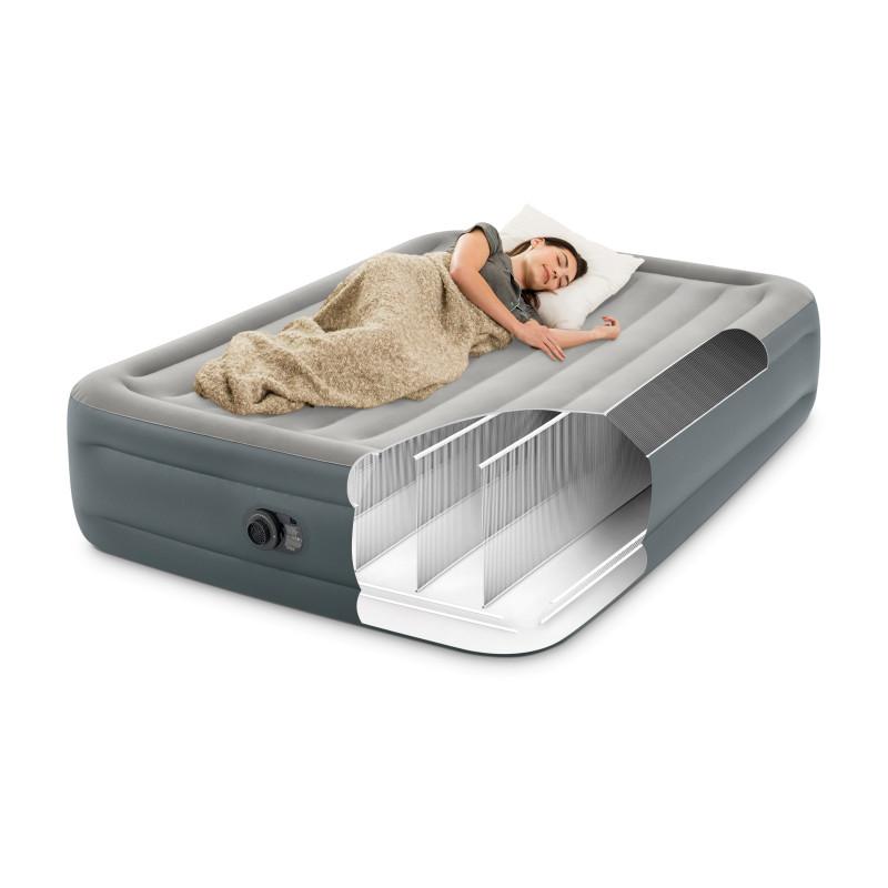 Basen ogrodowy stelażowy prostokątny 260 x 160 x 65 cm 28271 Intex Pool Garden Party